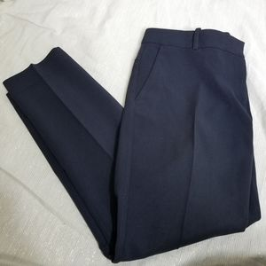 Ann Taylor Navy Trousers 8